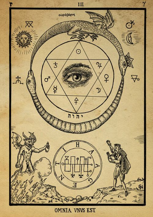 hexagram, symbol of analogy