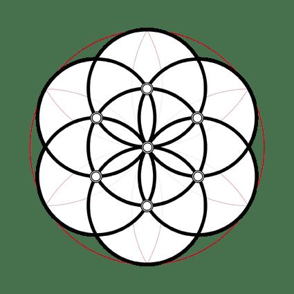 inner axes of symbol 25