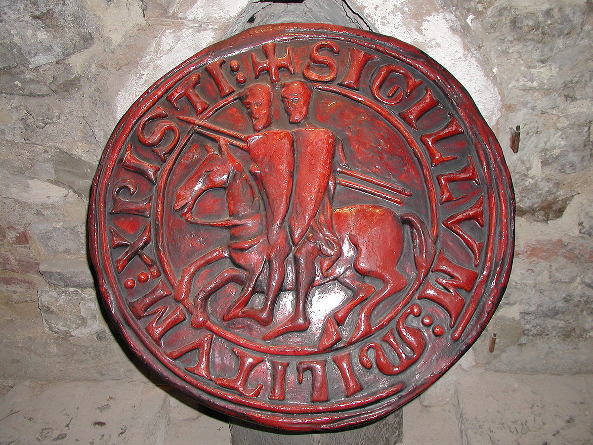 the seal of the templars