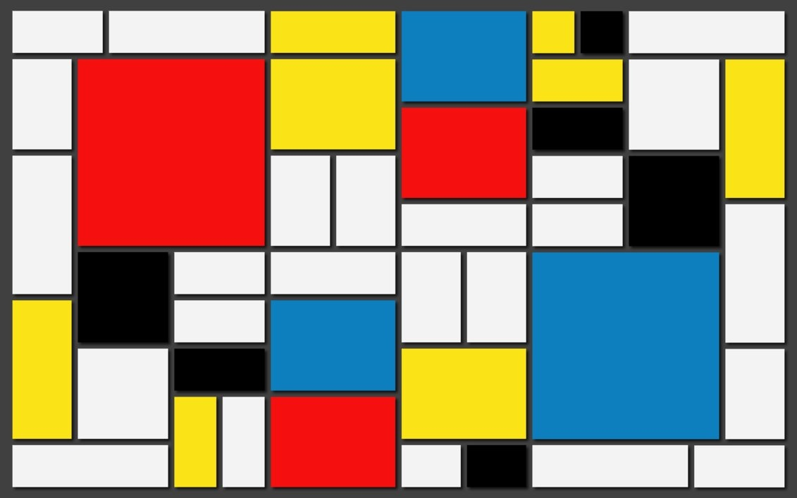Mondrian's squares