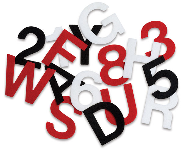 letters and digits