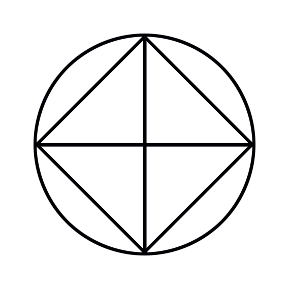 square derived from cross
